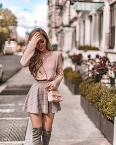 Outfits 2019 Outfits casual Outfits for moms Outfits for school Outfits for teen girls Outfits for work Outfits with hats Outfits women Cute Skirt Outfits, Cute Casual Outfits, Girly Outfits, Cute Skirts, Mode Outfits, Stylish Outfits, Classy Outfits For Teens, Cute Clothes For Girls, Outfits With Tights