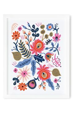 Free shipping and returns on Rifle Paper Co. 'Russian Folk' Framed Art Print at Nordstrom.com. Add a sophisticated vintage element to your home or office décor with a framed art print featuring stunning floral designs.
