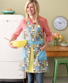 Make & Bake Apron + Giveaway | Sew Mama Sew | Outstanding sewing, quilting, and needlework tutorials since 2005.