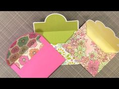 My Favorite Cricut Envelopes and Liners