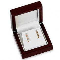 Cherrywood Collection Earring or Pendant Box...(ST61-7154:154674:T).! Price: $39.99 #earringbox #jewelrybox