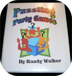 Author (I wrote a book of adult party games)