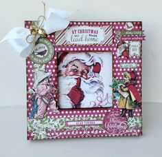 Project by Authentique Paper Design Team Member Keely Livings Christmas Paper Crafts, Christmas Ideas, Christmas Ornaments, Scrapbook Albums, Scrapbooking, Christmas Scrapbook, Team Member, Paper Design, Embellishments