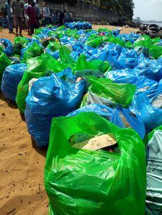 Assainissement : les bénévoles s'activent pour rendre les plages propres