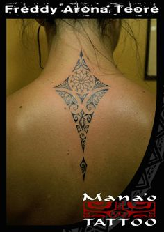 Mana'o tattoo #polynesian #tattoo