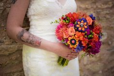 Day of The Dead or Cinco De Mayo Themed Wedding For The Off-Beat Bride