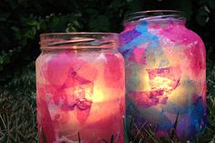 Ramadan Crafts - Decoupage Jar