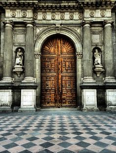 """church door, makes me think of the song line """"in your eyes I see the doorway to a thousand churches"""""""