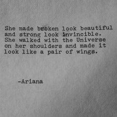 Sie machte gebrochenen Blick schöne Gedicht von EyeCandyPictures