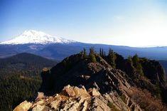 Sleeping Beauty Hike - Hiking in Portland, Oregon and Washington - short trail (3 RT) to views toward Mt. Adams