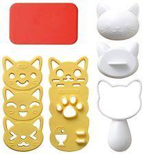 Arnest Cat Onigiri (Rice Ball) Maker A-76423 FKS