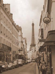 Vintage Paris Photograph - Vintage Paris Fine Art Print - Savena Budhu