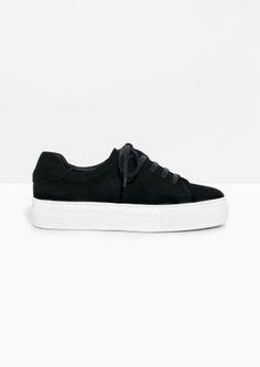 & Other Stories | Suede Platform Sneakers