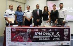 Presentan 6ª edición de la carrera atlética IPNONCEK Oaxaca 2016