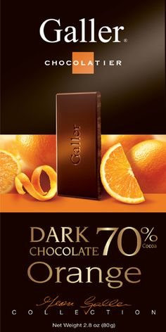Galler Dark Chocolate Orange
