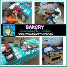 Bakery Dramatic Play Center for Preschool or Kindergarten