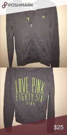 Victoria's Secret hoodie Barely worn, great condition Victoria's Secret Tops Sweatshirts & Hoodies