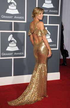 GRAMMYs vs. BAFTAs 2011 – Who was the Red Carpet Queen? - Fashion Forum - StyleBistro