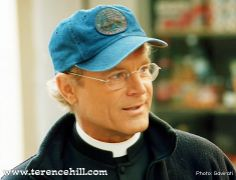 Terence Hill Backstage