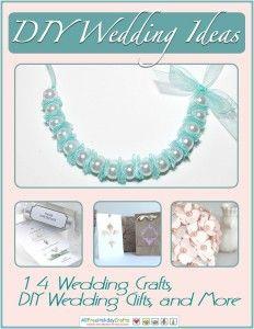 14 Ways to Cut Costs with a DIY Wedding from @AllFreeHolidayCrafts #DIY #Wedding