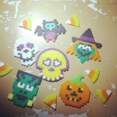 Halloween perler beads by Tiara Cunningham