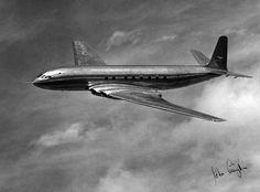 De Havilland Comet, Passenger Aircraft, Commercial Aircraft, Boeing 747, Trident, Concorde, Heron, Jets, First World