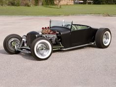 1927 Ford Roadster Side View