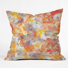 Jacqueline Maldonado Flutter Throw Pillow | DENY Designs Home Accessories