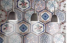 Classic - CIR® - Manifatture Ceramiche New Orleans: Mardì Gras s/6 Esagona 24x27,7
