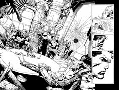 Forever Evil Double Page spread Crime Syndicate by Blasterkid on deviantART