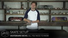 SKATEBOARD DECKS: All You Need To Know – Skate Setup | Titus: http://www.titus-shop.com In this… #Skatevideos #decks #know #need #Setup