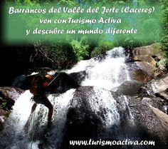 Barranquismo en el Valle del Jerte (Caceres)