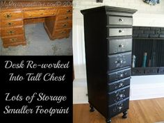 My Repurposed Life-Desk Into Chest