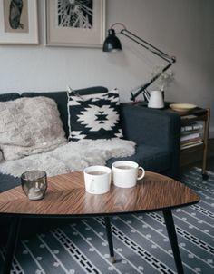 Iittala Teema Cups / Ikea Lövbacken Table