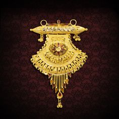 Antique Jewellery Designs, Gold Jewellery Design, Gold Jewelry, Wedding Jewelry, Jewelry Box, Jewelery, Gold Mangalsutra Designs, Gold Earrings Designs, Necklace Designs