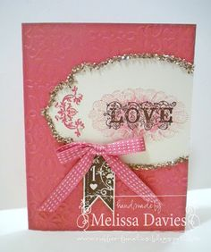 RubberFUNatics----uses Stampin Up's Affection Collection stamp set
