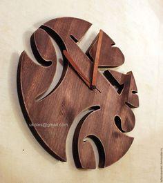 Часы для дома ручной работы. Ярмарка Мастеров - ручная работа. Купить Часы из дерева. Handmade. Настенные часы, подарок