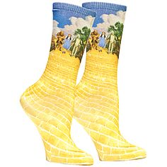 """No ruby slippers?  These socks will add their own fashion """"magic"""" to your outfit!"""