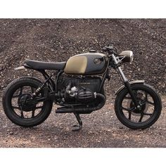 BMW #r80 black & gold