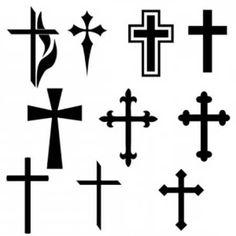 Resultado de imagem para cruz tattoo