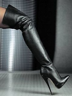 Sexy Boots for women and men from Sexy Shooz UK. Ankle Boots, Knee Boots, Thigh High Boots plus Crotch and Chap Boots Thigh High Boots Heels, Stiletto Boots, Black High Heels, Heeled Boots, Shoes Heels, Botas Sexy, Talons Sexy, Sexy Stiefel, High Leather Boots