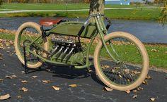 1917 Henderson Four Cylinder Board Track Racer