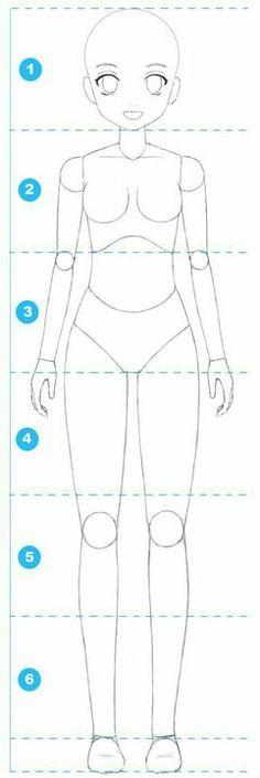 Learn To Draw Manga - Drawing On Demand como aprender a dibujar mujeres anime y manga 2 Manga is the. Basic Drawing, Body Drawing, Drawing Base, Manga Drawing, Drawing Tips, Drawing Reference, Manga Art, Drawing Sketches, Kawaii Drawings