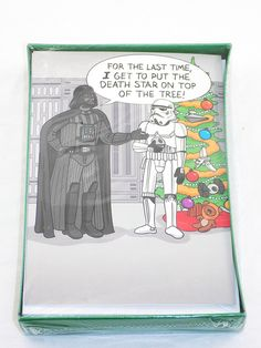 Amazon.com : 18 Star Wars MERRY SITHMAS Hallmark Funny Zone Holiday Christmas Greeting Cards Boxed Set : Office Products