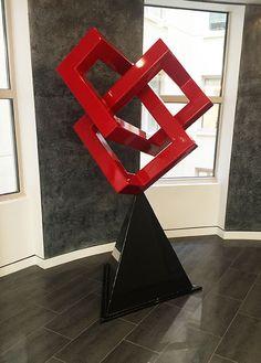 Knot Me, a fine art, free-standing sculpture - Kevin Caron