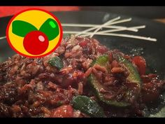 Risotto con Champiñones y Calabacines de Arroz Negro - Receta de Arroz de verduras - YouTube