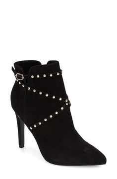 Topshop 'Humour' Studded Pointy Toe Bootie (Women) available at #Nordstrom