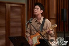 Doctor and guitar player Yoo Yeon Seok, Won Ho, Movies Showing, Korean Actors, Korean Drama, Kdrama, Fangirl, It Cast, Pictures