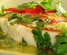 Easy Thai Pan-Fried Fish (great with halibut, cod, tilapia, etc...!): Delicious Pan-Fried Fish with Lemon-Herb Sauce