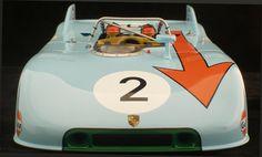 Die-cast detail – 1971 Porsche 908/3
